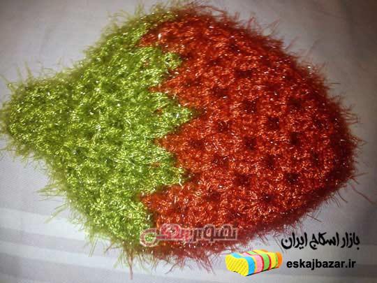 بازار خرید انواع اسکاج قلاب بافی در اصفهان